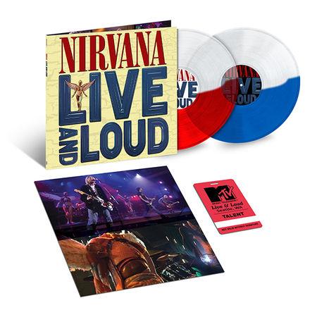 Nirvana: Live And Loud: Exclusive Split Colour Double Vinyl