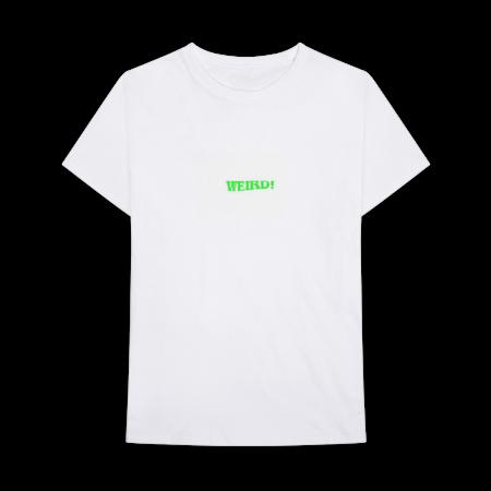 Yungblud: WEIRD! GREEN TEXT T-SHIRT + WEIRD! CASSETTE