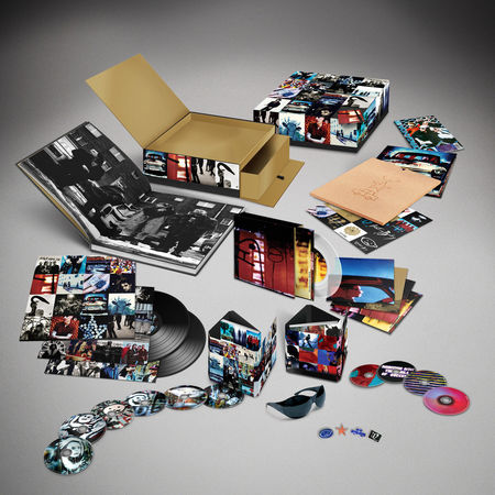 U2: Achtung Baby (Uber Deluxe Edition) (6CD + 4DVD + Art Prints)