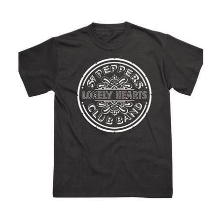 The Beatles: Sgt. Pepper Mono T-Shirt