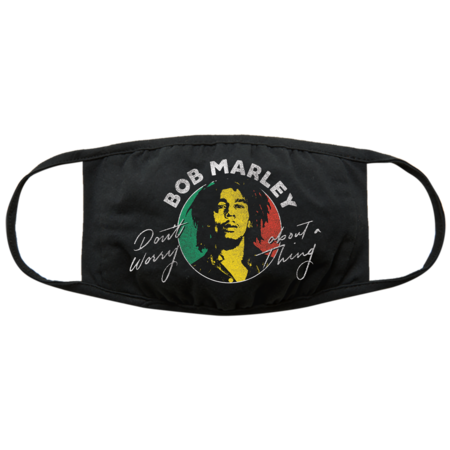 Bob Marley: Bob Marley Don't Worry Face Mask