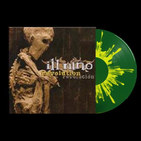 Ill Nino: Revolution Revolución: Limited Edition Dark Green + Yellow Splatter Vinyl LP