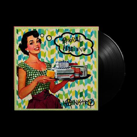 Ministry: Moral Hygiene: Black Vinyl LP