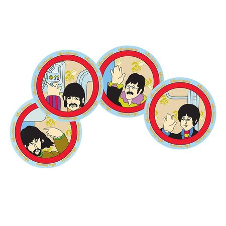 The Beatles: Yellow Submarine 4 Piece 8