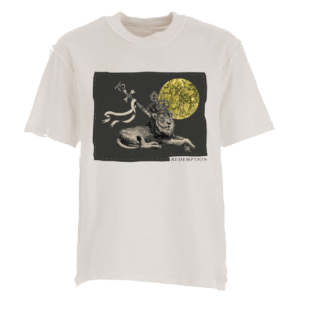 Bob Marley: Applique Lion T-shirt