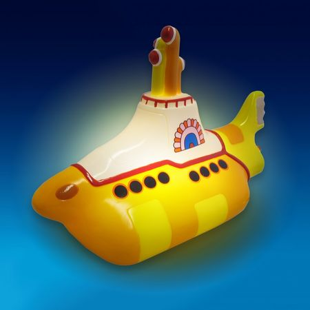 The Beatles: Yellow Submarine LED Lamp