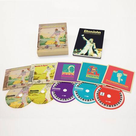Elton John: Goodbye Yellow Brick Road (4CD+DVD)