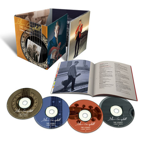 Glen Campbell: The Legacy: 1961-2017 (4CD)