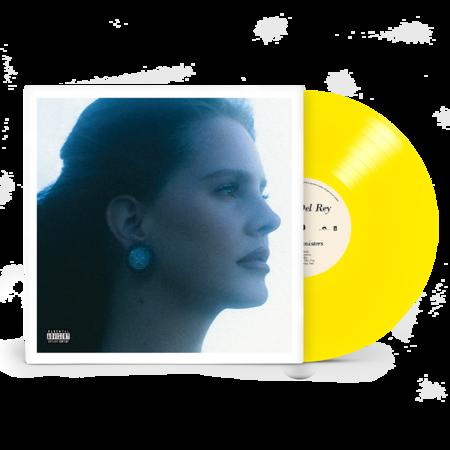 Lana Del Rey: BLUE BANISTERS TRANSPARENT YELLOW VINYL