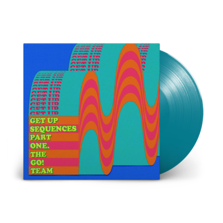 The Go! Team: Get Up Sequences Part One: Signed Limited Edition Turquoise Vinyl LP