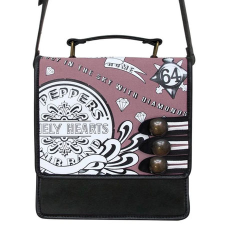 The Beatles: Sgt Pepper Pink Mini Bag