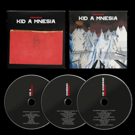 Radiohead: KID A MNESIA: 3CD