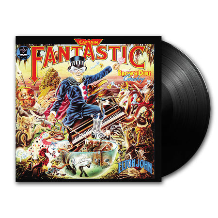 Elton John: Captain Fantastic And The Brown Dirt Cowboy (LP)