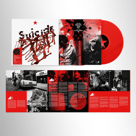 Suicide: Suicide: Limited Edition Red Vinyl