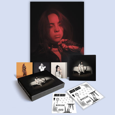 Billie Eilish: DELUXE CLAMSHELL CD