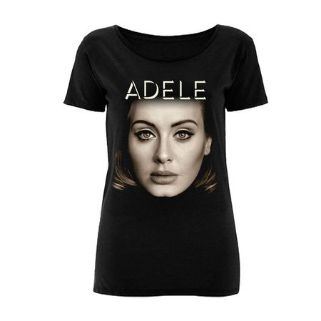 Adele: Cover Scoop T-Shirt