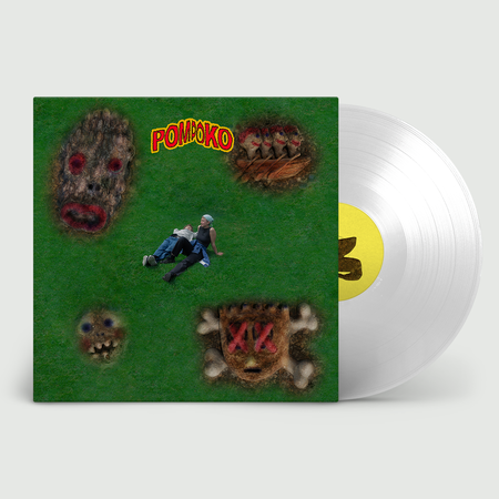 Pom Poko: Cheater: Clear Vinyl in PVC Printed Outer Sleeve + Signed Print