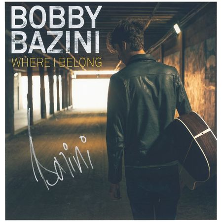 Bobby Bazini: Where I Belong Autographed Lithograph