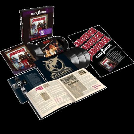 Black Sabbath: Sabotage: Super Deluxe Edition 4LP + 7