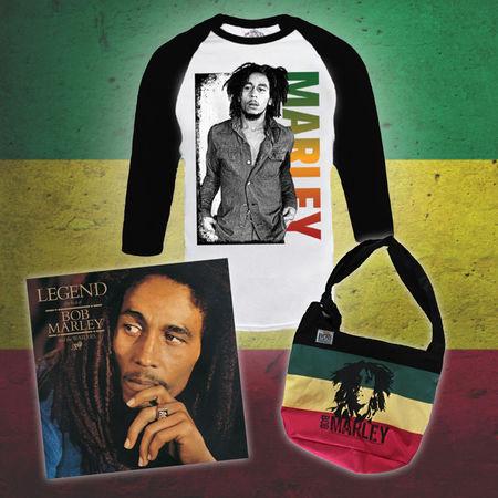 Bob Marley: Exclusive Bob Marley Bundle #1