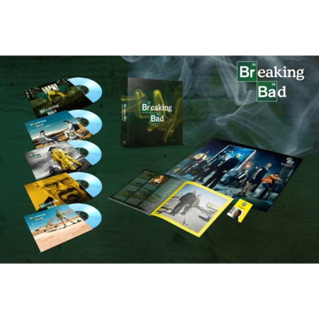 """Various Artists: Breaking Bad: Music From The Original Series Albuquerque Crystal Coloured Numbered 5x10"""" Vinyl Boxset"""
