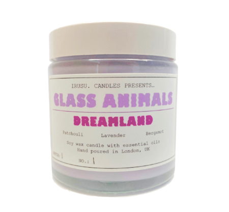 Glass Animals: DREAMLAND X IRUSU CANDLE