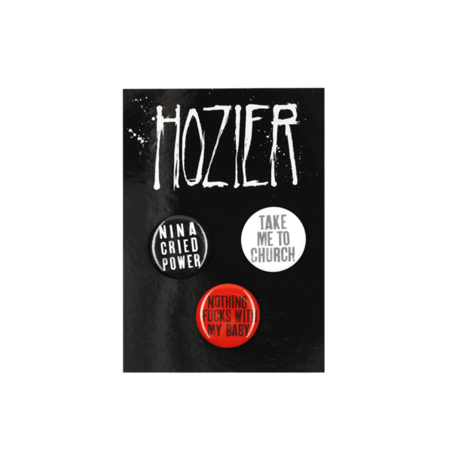 hozier: Button Set