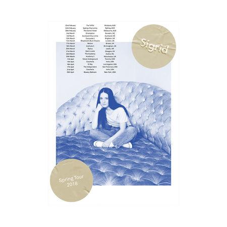 Sigrid: Spring Tour 2018 Risograph