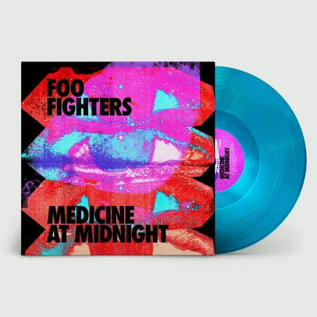 Foo Fighters: Medicine At Night: Limited Edition Blue Vinyl