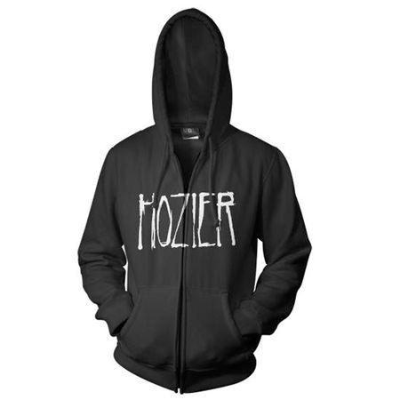hozier: Hozier Logo Zip Hood