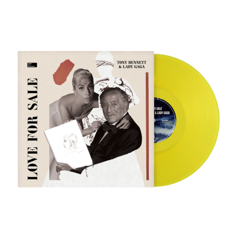 Tony Bennett & Lady Gaga: Love For Sale Exclusive Coloured Vinyl