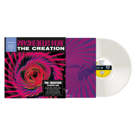 The Creation: Psychedelic Rose: Limited Edition 140g Clear Vinyl