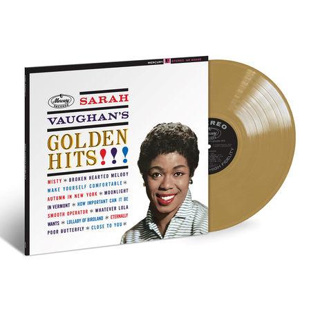 Sarah Vaughan: Golden Hits (Gold LP)