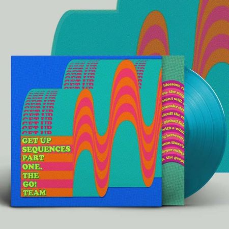 The Go! Team: Get Up Sequence Part One: Signed Limited Edition Turquoise Vinyl LP