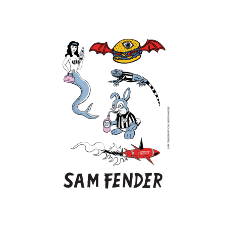 Sam Fender: Sticker Sheet
