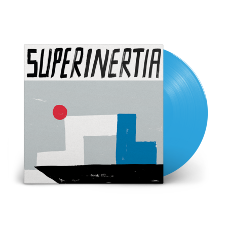 10000 Russos: Superinertia: Blue Vinyl LP