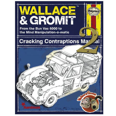 Wallace & Gromit: Haynes Cracking Contraptions Manual 2