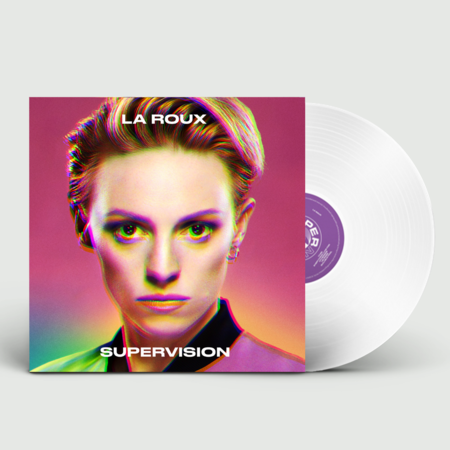 La Roux: Supervision: Signed Limited Edition White Vinyl