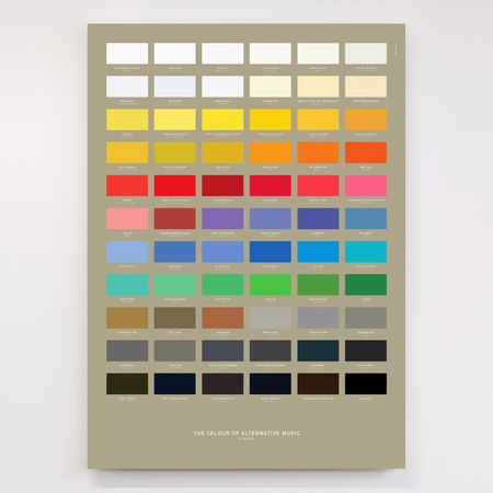 Dorothy: The Colour of Alternative Music Litho Print Poster