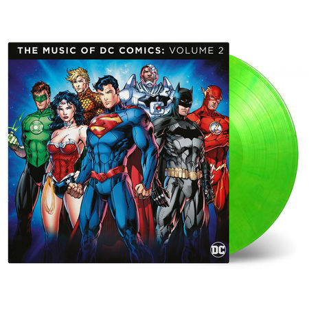 Original Soundtrack: Music Of DC Comics Vol.2: Limited Edition Green Coloured Vinyl