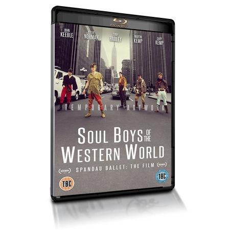 Spandau Ballet: SPANDAU BALLET SOUL BOYS OF THE WESTERN WORLD DUTCH EDITION BLU-RAY