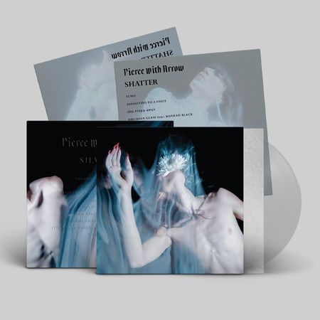 Pierce With Arrow: Shatter: Limited Edition Cloudy Clear Vinyl