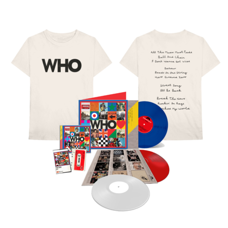 The Who: WHO Completist's Set + Who Logo Album Tee
