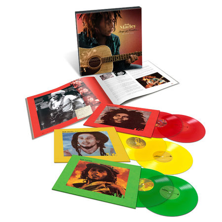 Bob Marley and The Wailers: Songs Of Freedom: The Island Years: Exclusive Coloured Vinyl Box Set