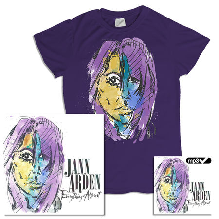 Jann Arden: Everything Almost CD + MP3 (Deluxe) + Tee Bundle