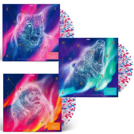 Philip Pullman: His Dark Materials: Limited Edition 9LP 180g Daemonic Dustburst Splatter Vinyl Set