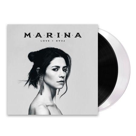 MARINA: LOVE + FEAR: Black & White Vinyl