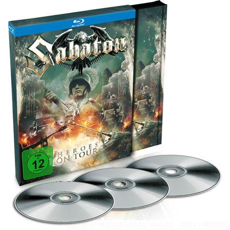 Sabaton: Heroes On Tour: Double Blu-Ray + CD Album + Poster