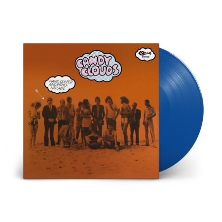 Hans Dulfer and Ritmo-Natural: Candy Clouds: Limited Edition Blue Vinyl LP