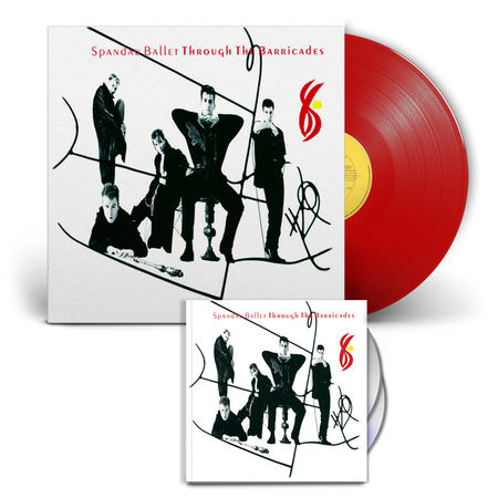 Spandau Ballet: Through The Barricades CD/DVD & Vinyl Anniversary Bundle